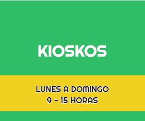 Kioskos en la Ciudad de Mexico (CDMX)