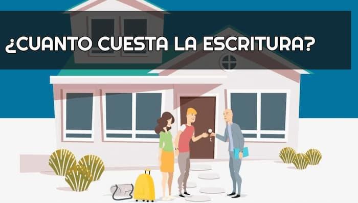 Cuánto cuesta escriturar una casa en México